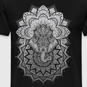 elephant ornament - Men's Premium T-Shirt