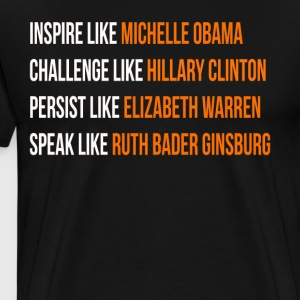 Inspire like Michelle Obama - Men's Premium T-Shirt
