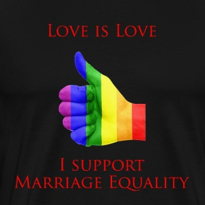 Love is Love 2 - Men's Premium T-Shirt