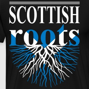 Scottish Roots Tshirt - Men's Premium T-Shirt