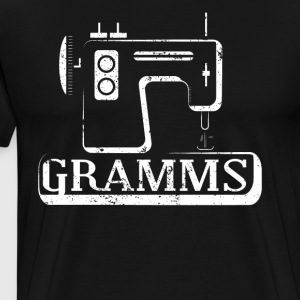 Gramms Cool Sewing Machine Sewing Projects Shirt - Men's Premium T-Shirt
