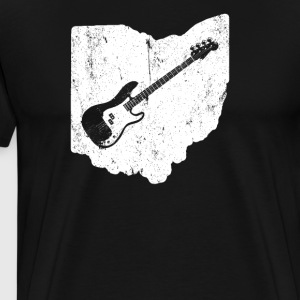 Ohio Bass Player T Shirt Bass Guitar T Shirt - Men's Premium T-Shirt