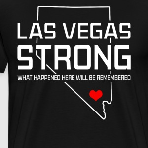 Las Vegas Strong T-shirt - Men's Premium T-Shirt