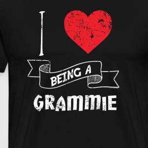 I Love Being A Grammie - Men's Premium T-Shirt