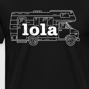 Best Filipino Lola RV Retirement - Men's Premium T-Shirt