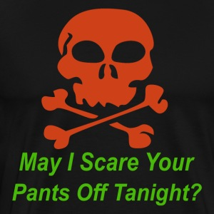 Halloween pickup line - Men's Premium T-Shirt