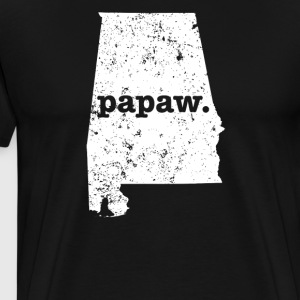 Papaw Alabama Coolest Grandpa - Men's Premium T-Shirt
