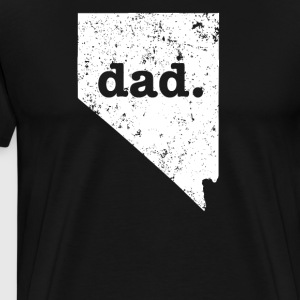 Best Dad Nevada Funny For Dad - Men's Premium T-Shirt