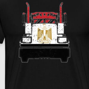 Egyptian Trucker Shirt Egypt Flag T Shirts Trucker - Men's Premium T-Shirt