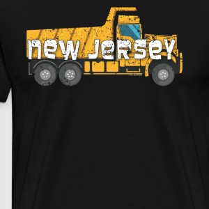 Best Dump Truck Driver New Jersey Construction - Men's Premium T-Shirt