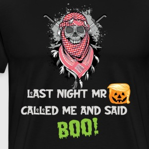 Mr trumpkin said boo - Men's Premium T-Shirt