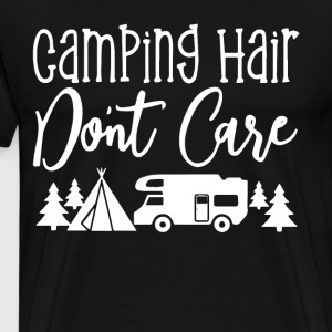 Camping hair don t care t-shirts - Men's Premium T-Shirt