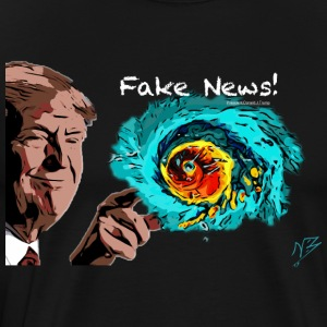 Fake news trump - Men's Premium T-Shirt