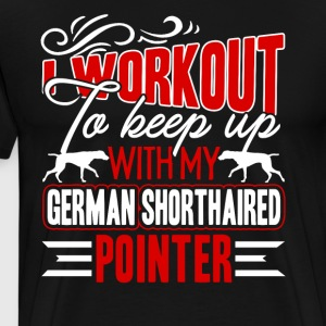 German Shorthaired Pointer Shirt - Men's Premium T-Shirt