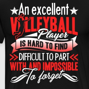 Volleyball Player Shirt - Men's Premium T-Shirt
