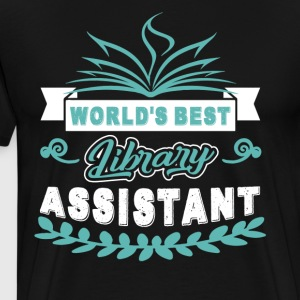Library Assistant Shirt - Men's Premium T-Shirt
