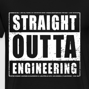 Straight outta engineering - Men's Premium T-Shirt