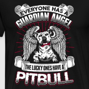 Guardian Angel Pitbull - EN - Men's Premium T-Shirt
