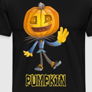 Halloween Hello Pumpkin t shirt Nice Gift For Hall - Men's Premium T-Shirt