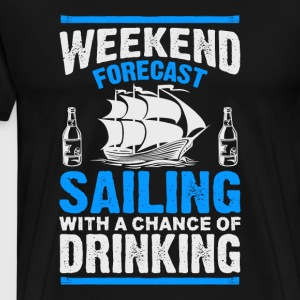 Sailing and Drinking - Men's Premium T-Shirt