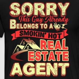 Real Estate Agent Shirt - Men's Premium T-Shirt