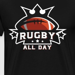 Rugby All Day Shirt - Men's Premium T-Shirt
