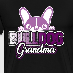 FRENCH BULLDOG GRANDMA WOMEN'S SHIRTS - Men's Premium T-Shirt