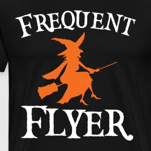Frequent Flyer T Shirt Perfect Halloween Tee - Men's Premium T-Shirt