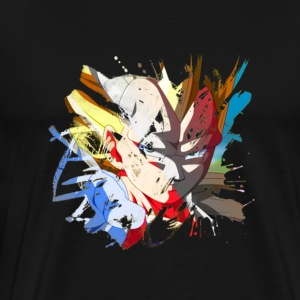 T-Shirt Vageta Saiyan Dragon Ball High Quality - Men's Premium T-Shirt
