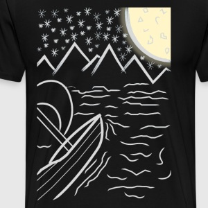 Sailing moon - Men's Premium T-Shirt