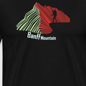Banff Mountain - Men's Premium T-Shirt
