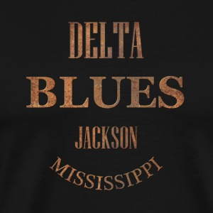 blues jackson mississippi - Men's Premium T-Shirt