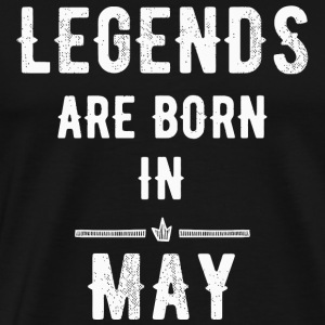 May - Legends are born in May - Men's Premium T-Shirt