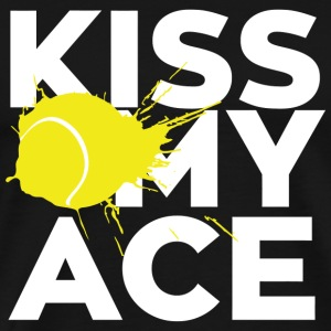 Kiss - kiss my ace - Men's Premium T-Shirt