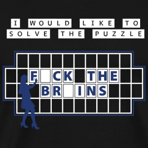 Puzzle - i would like to solve the puzzle - Men's Premium T-Shirt