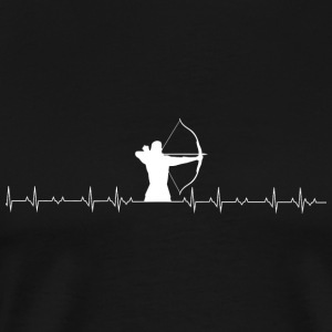 Archer - Archers Heartbeat - Men's Premium T-Shirt