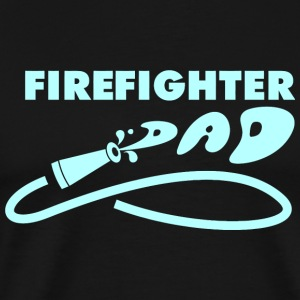 Firefighter - firefighter dad - Men's Premium T-Shirt