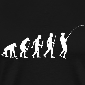 Fishing - Evolution of Man and Fishing - Men's Premium T-Shirt
