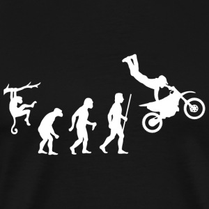 Dirtbike - Dirtbike Evolution - Men's Premium T-Shirt