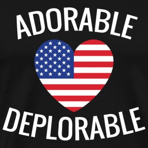 Military - Adorable Deplorable - Men's Premium T-Shirt