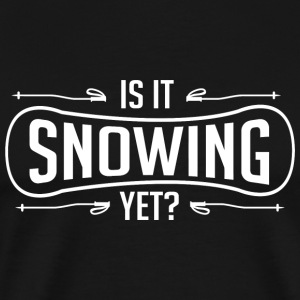 Skiing - Is it snowing yet? - Men's Premium T-Shirt