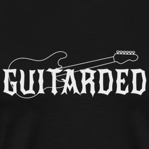 Guitar - Guitarded - Men's Premium T-Shirt