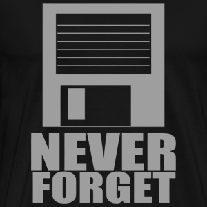 Floppy - Never Forget Floppy - Men's Premium T-Shirt