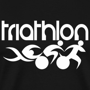 Triathlon - Graphic Triathlon Tshrit - Men's Premium T-Shirt