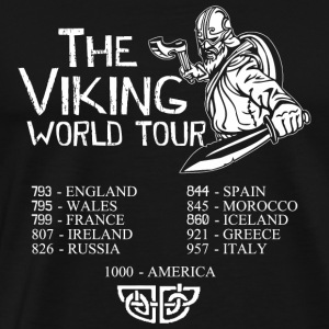 Danish - Danish - The Viking World Tour - Men's Premium T-Shirt