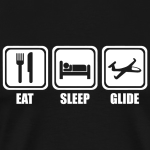 Glide - Eat Sleep Glide - Men's Premium T-Shirt