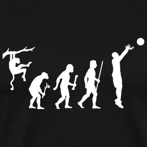 Basketball - Funny Evolution of Basketball Shirt - Men's Premium T-Shirt