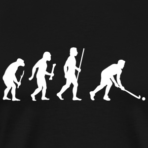Field Hockey - Evolution of Man and Field Hockey - Men's Premium T-Shirt
