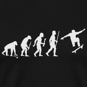 Skateboarding - Evolution of Man and Skateboardi - Men's Premium T-Shirt