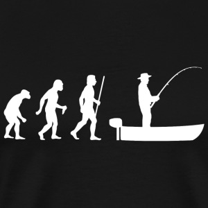 Boat Fishing - Boat Fishing Evolution - Men's Premium T-Shirt